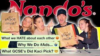 *KACI'S FIRST KISS* NANDOS MUCKBANG Q&A
