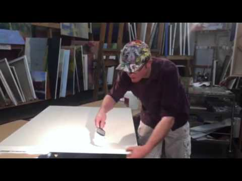 Braitman Studio's October 2015 Monthly Video Lesson: How to Gesso a Canvas