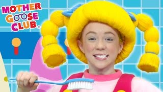 Brush Your Teeth   DIY Clean White Teeth   Mother Goose Club Songs for Children