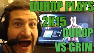 Duhop plays WWE 2K15 On Xbox 360 Duhop Vs Grim