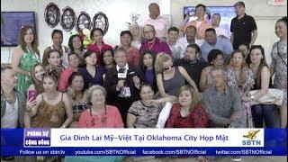 PHÓNG SỰ CỘNG ĐỒNG: Gia đình con lai Mỹ - Việt tại Oklahoma City họp mặt