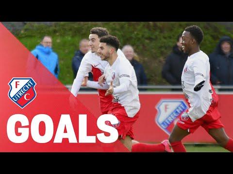 GOALS | FC Utrecht O19 SCOORT er op los!