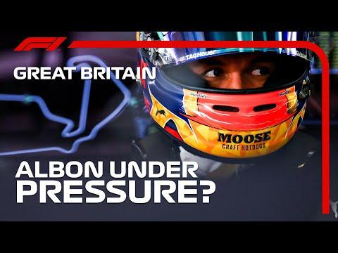 Is Alex Albon Really Under Pressure? | 2020 British Grand Prix
