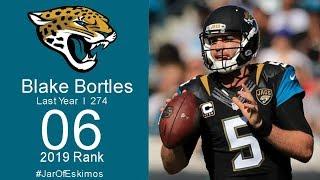 #6 Blake Bortles (QB Jaguars)   Top 100 players of 2019 NFL