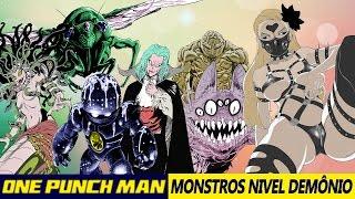 ONE PUNCH MAN | Os Monstros Nível Demônio (Parte 2)