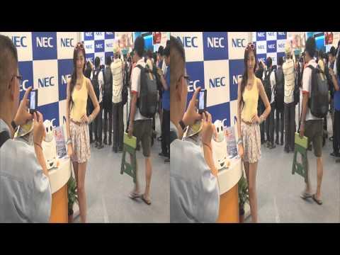 20130804 羅佩藹(Vivian) NEC 2013台北應用展 世貿一館 3D Ver.