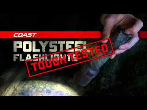 Coast Torches Polysteel 400 Focusing Led Torch 300 Lumens