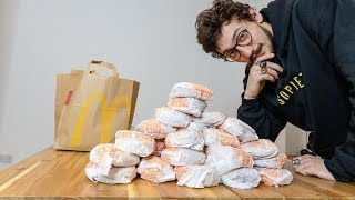 Can you eat 30 burgers while doing 30 backflips?
