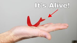 This Mysterious Material Moves Around on Your Hand