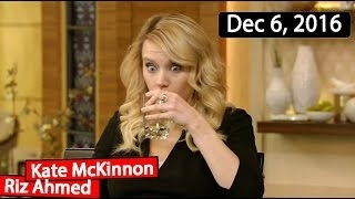 Kate McKinnon, Riz Ahmed Interview | Live with Kelly TV Show (December 6, 2016)