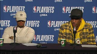 DeMar DeRozan & Kyle Lowry Postgame Interview - Game 4 | Raptors vs Cavaliers | 2018 NBA Playoffs