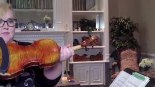 Jesu, Joy of Man's Desire played on Stradivarius Copy violin SOUND SAMPLE