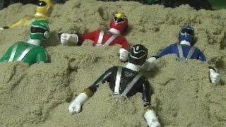 Power Rangers RPM Sand Play Toys 파워레인저 엔진포스 모래놀이 장난감