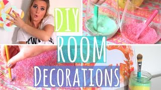 Easy & Colorful DIY Room Decorations