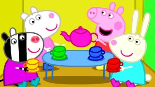 Peppa Pig Episodes - Peppa plays with friends - Cartoons for Children