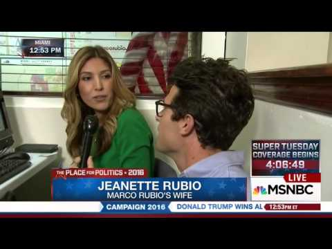 Jeanette Joins MSNBC Live From Marco's Miami HQ | Marco Rubio for President