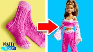 50 Barbie Hacks And Toys Crafts