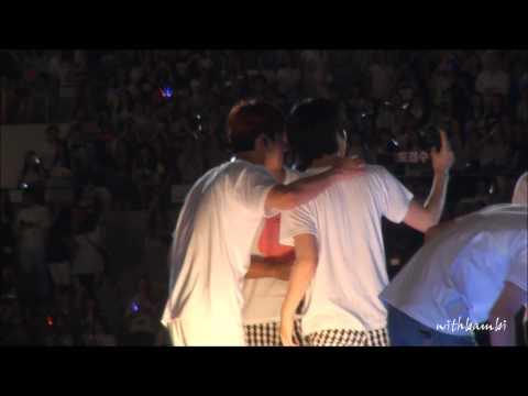 140815 SMTOWN in seoul ending changmin focus full