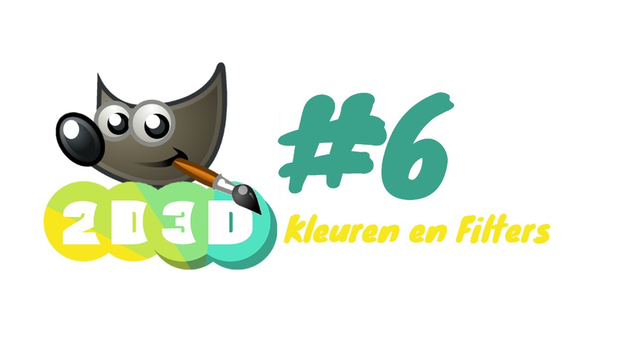 Gimp training #6: Kleuren en Filters