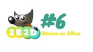 Gimp training #6: Kleuren en Filters