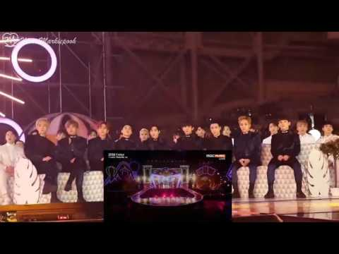 SEVENTEEN & TWICE (ft EXO) Reaction to Each Other♡