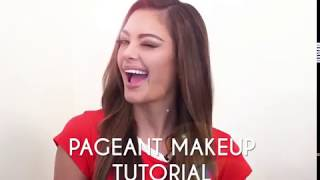 Pageant Makeup Tutorial with Miss Universe 2017