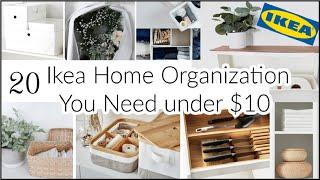 20 Ikea Home Organization Ideas / Affordable Organization You Need 2021