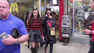 Bella Hadid and Kendall Jenner go to McDonald after a fashion show in NYC