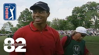 Tiger Woods wins 1997 Motorola Western Open Chasing 82