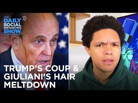 Trump Bullies Election Officials & Giuliani's Hair Has a Meltdown   The Daily Social Distancing Show
