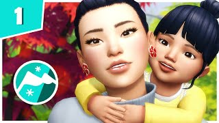 Moving to Mt. Komorebi | Ep.1 | The Sims 4 Snowy Escape