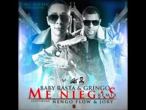 (LETRA OFFICIAL) Me Niegas (Official Remix)★Baby Rasta & Gringo Ft  Ñengo Flow & Jory Boy★