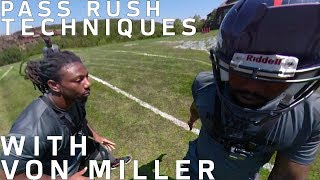 Von Miller Uses GoPro to Teach Pass Rushing Techniques | NFL