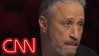 Jon Stewart says the President is attacking journalists' ego