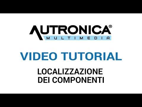 Autronica Multimedia: localizzazione dei componenti