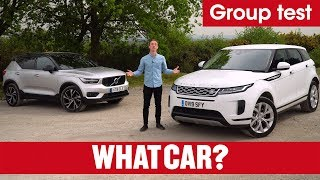 2020 Range Rover Evoque vs Volvo XC40 review – what's the best family SUV? | What Car?