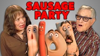 Elders React to Sausage Party Trailer