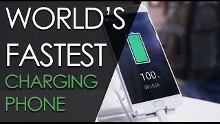 WORLD'S FASTEST CHARGING SMARTPHONE