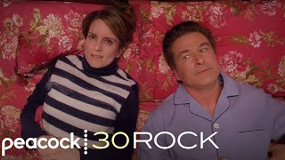 30 Rock - Jack and Liz Share A Bed