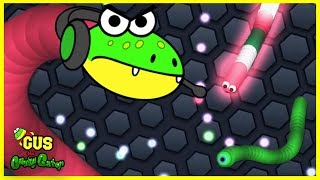 Let's Play Slither.io Episode 2 with Gus the Gamer