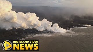 Hawaii Volcano Eruption Update - Thursday Morning (July 12, 2018)