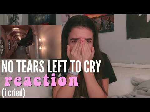 Ariana Grande - No Tears Left To Cry REACTION