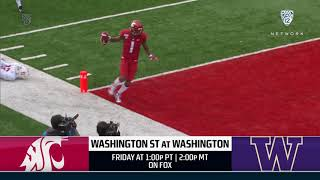 Pac-12 Preview: Apple Cup on tap!  11/27/19