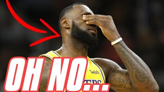 LAKERS MISSING THE PLAYOFFS? The Los Angeles Lakers are IN TROUBLE…