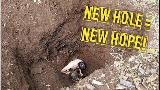 BOTTLE DIGGING NEW HOLE HOPE! EPISODE 1