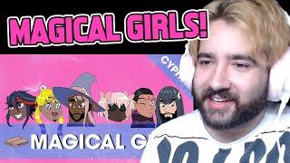 REACTION - MAGICAL GIRL RAP CYPHER | Ham Sandwich w/ PE$O PETE, Breeton Boi, Diggz, Mir & Ciyo