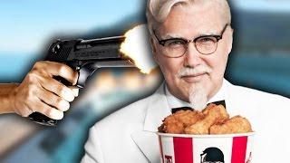 SHOOT COLONEL SANDERS?   Hitman Funny Moments