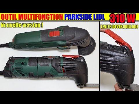 Outil multifonction lidl parkside pmfw 310 d2 multi purpose tool multifunktionswerkzeug - Outil multifonction lidl ...