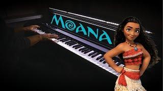 Moana - How Far I'll Go (Piano Cover)