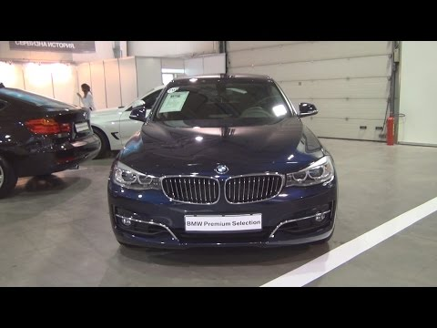 BMW 330d xDrive Gran Turismo (2014) Exterior and Interior in 3D